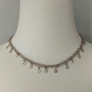 Brighton .925 silver star necklace